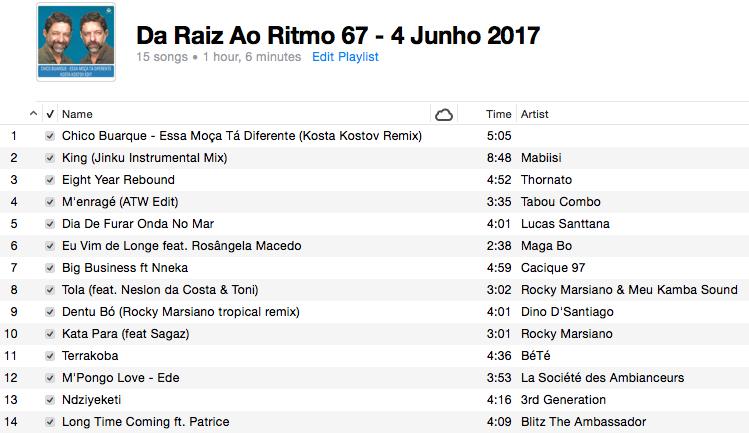 da-raiz-ao-ritmo-4-junho-2017-playlist