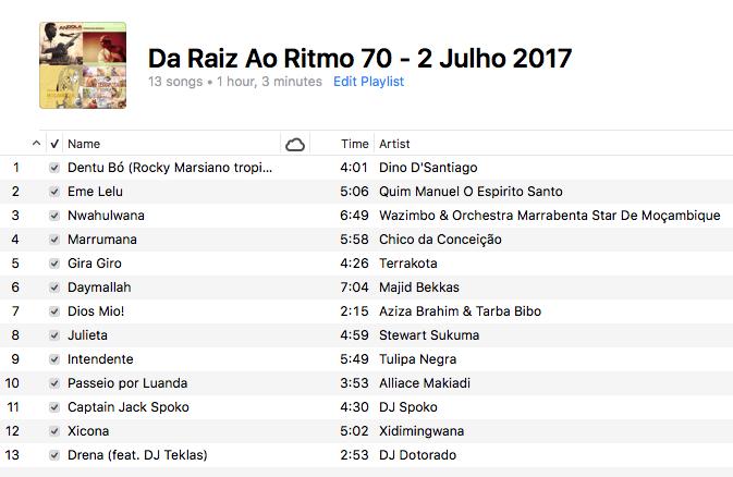 da-raiz-ao-ritmo-2-julho-2017-playlist