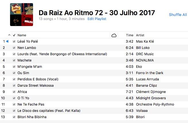 da-raiz-ao-ritmo-30-julho-2017-playlist