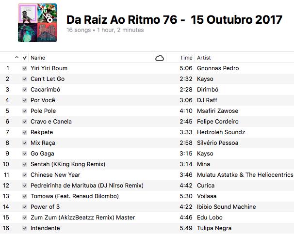playlist-da-raiz-ao-ritmo-15-outubro-2017