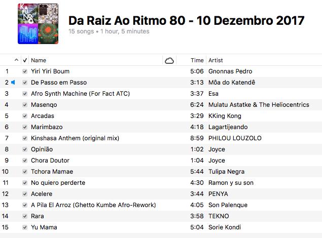 da-raiz-ao-ritmo-10-dezembro-2017-playlist