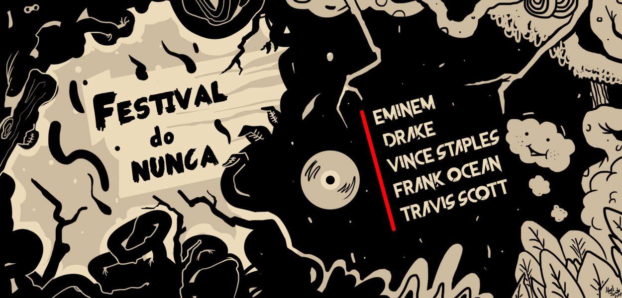 Festival do Nunca reflete os desejos de quem acompanha a mudança de paradigma no hip hop