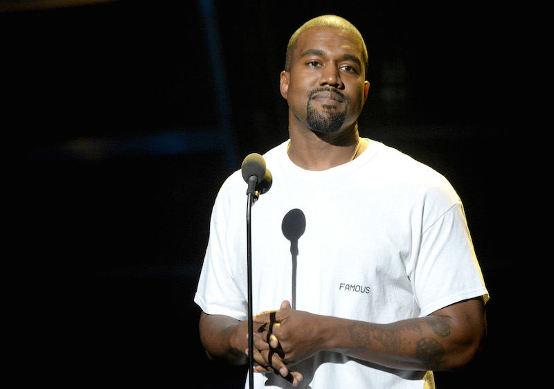 NEW YORK, NY - AUGUST 28:  Kanye West performs onstage during the 2016 MTV Video Music Awards at Madison Square Garden on August 28, 2016 in New York City.  (Photo by Jeff Kravitz/FilmMagic)