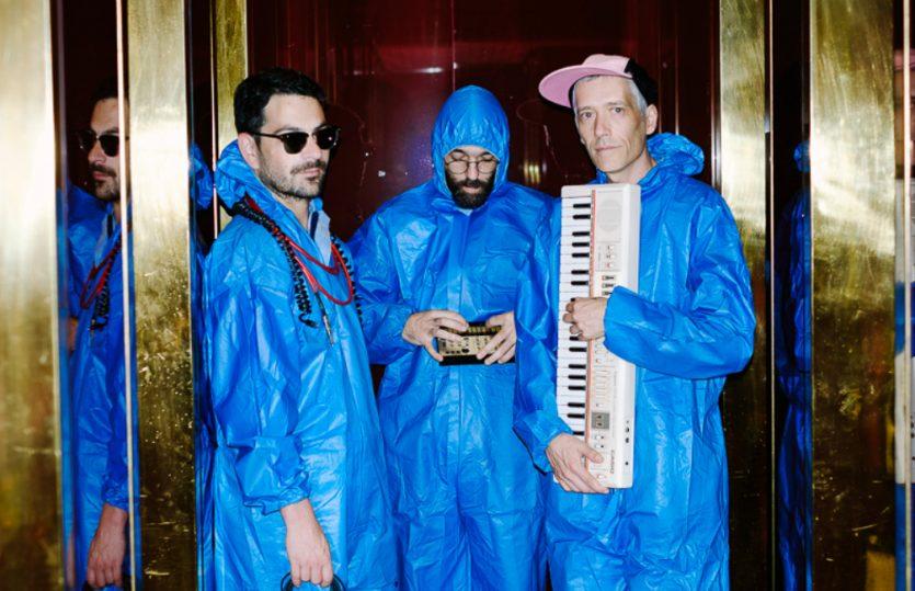 Montanhas Azuis: melódicos e electrónicos